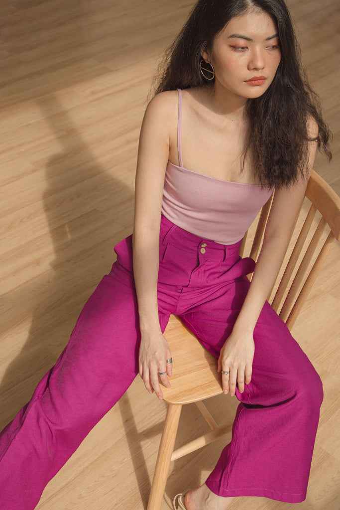 Duplicate Pants in Wild Berry Pink