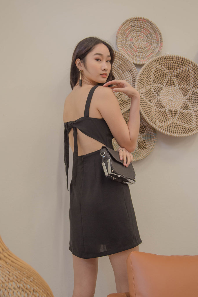 Got Your Back Dress in Black
