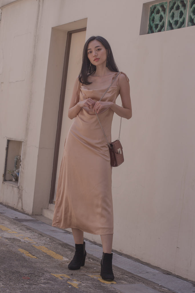 Ladies' Night Midi in Tan