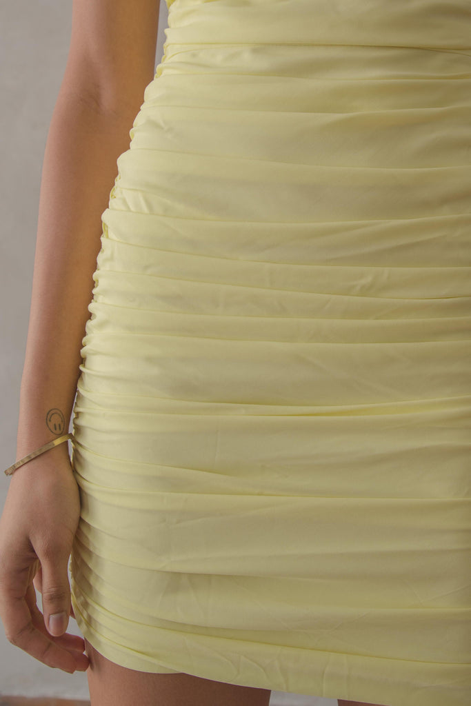 Limitless Dress in Jonquil Yellow