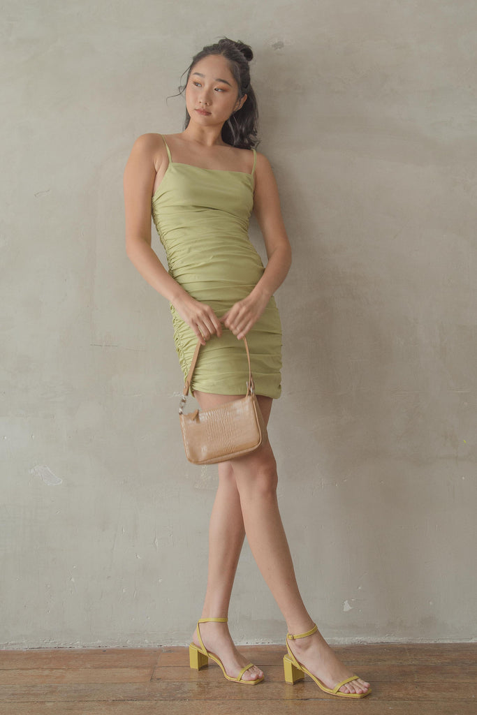 Limitless Dress in Soft Lime Green