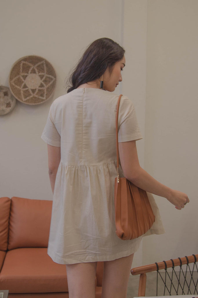 BBG Dress in Romance Cream