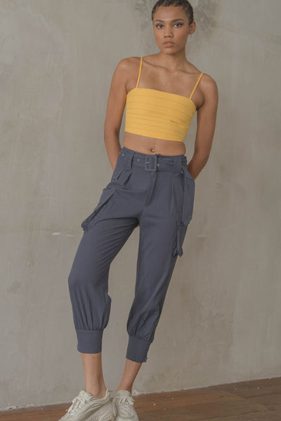 Undercover Pants in Dark Blue