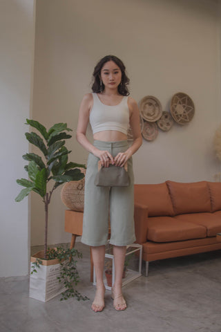 Multi Layered Pants in Grey