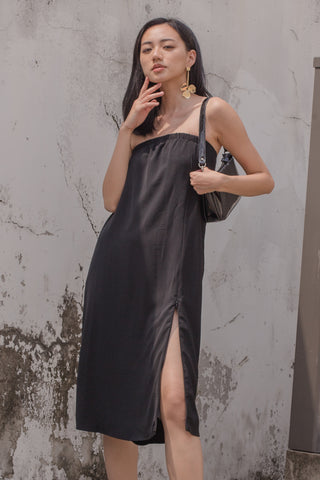 Drop It Jumpsuit in Black