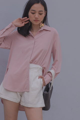 The Essential Top in Frost Pink