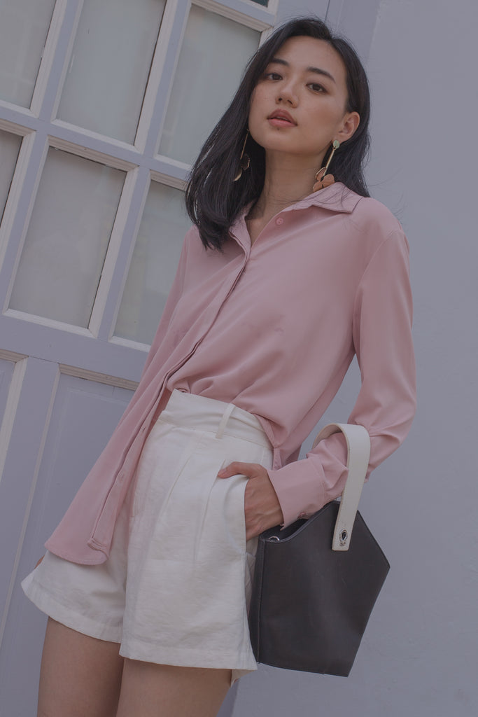 Second Skin Top in Peony Pink