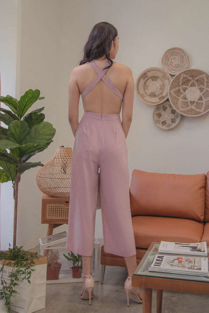 Endless Jumpsuit in Petal Pink