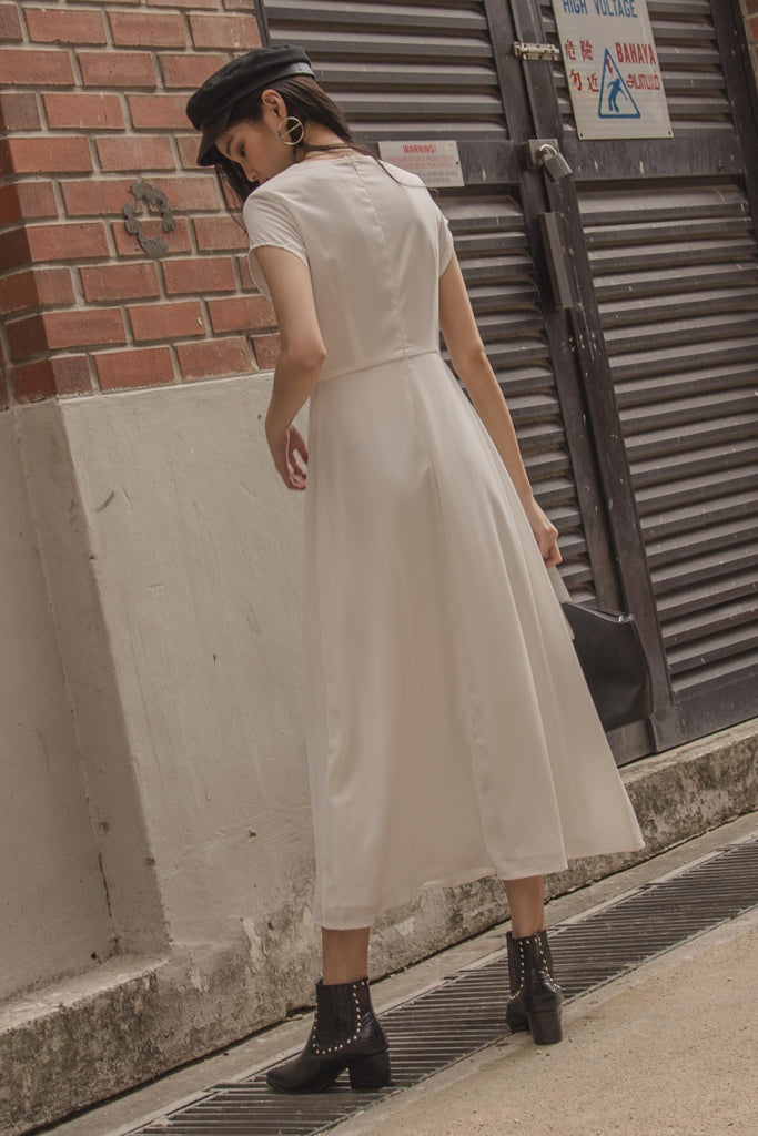 Lunar Midi in White