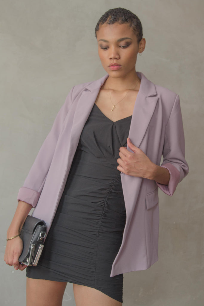 Dominate Blazer in Heather Purple