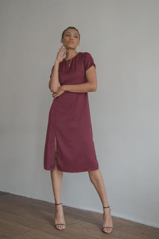 Soul Mate Dress in Rose Taupe (Back Order)