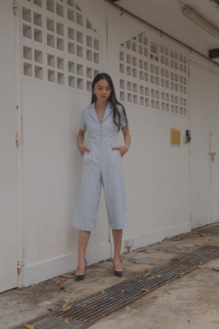 Royal Treatment Jumpsuit in Navy Phoenix