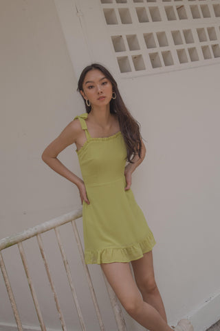 Knotty and Nice Romper in Melon