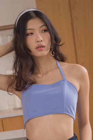 Two Timer Top in Egyptian Blue