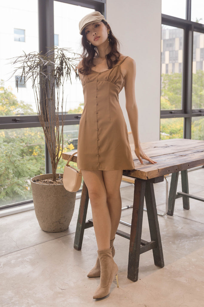 2021 Dress in Twine Brown