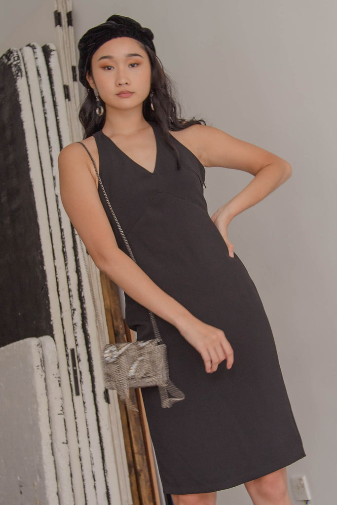 Play Back Dress in Black