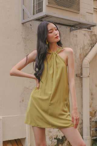 Go To Shirt Dress in Honey Yellow