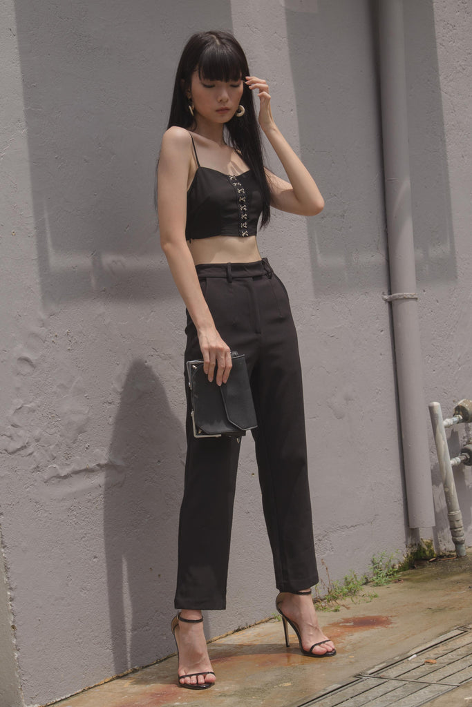 *Back Order* Back To Business Pants in Black