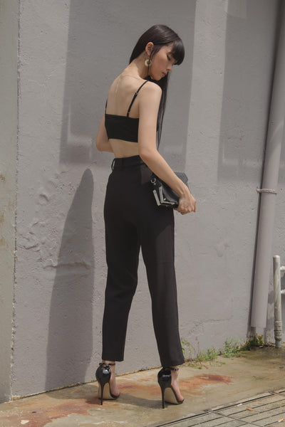 Back To Business Pants in Black