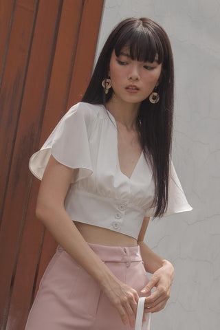 Balanced Top in Crystal Pink