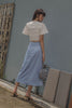 Daydream Skirt in Ice Blue