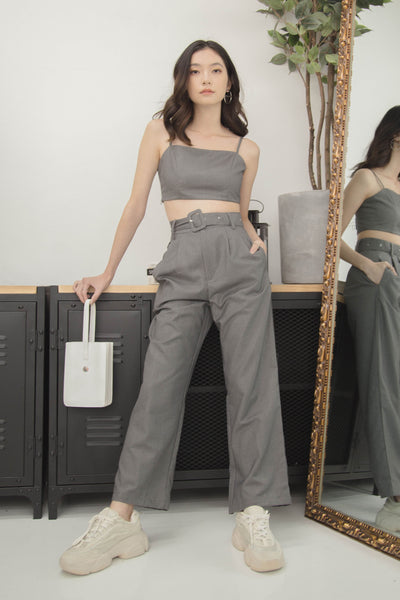 Triple Threat Pants in Cool Grey