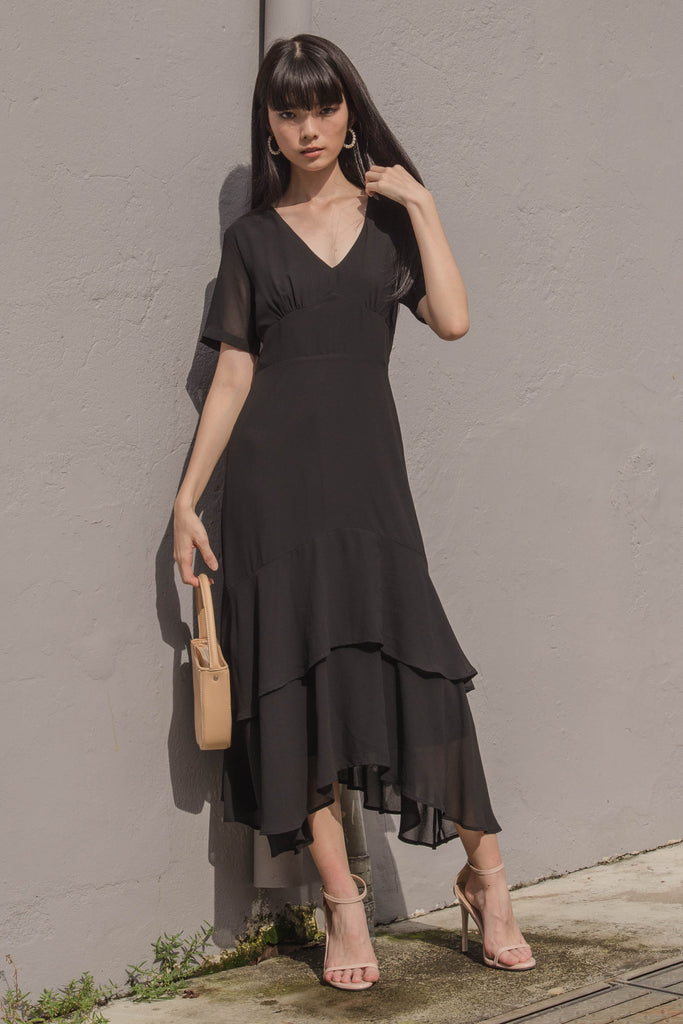 Double Take Maxi in Black