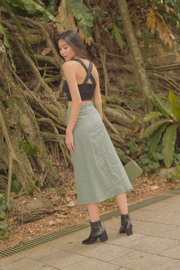 Day to Day Skirt in Dark Teal
