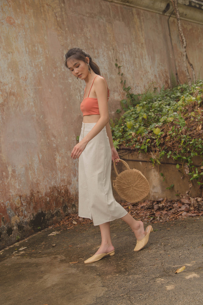 Day to Day Skirt in Ivory