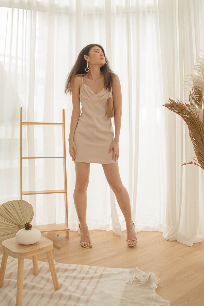 Uptown Dress in Mineral Mauve