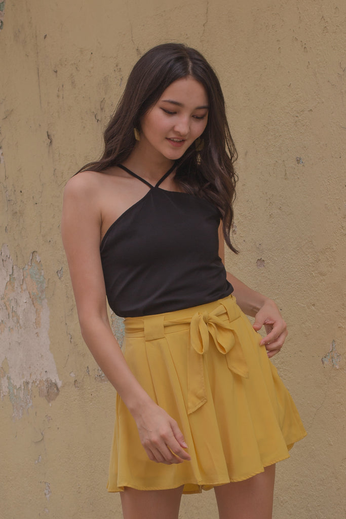 Illusion Shorts in Sunny Yellow
