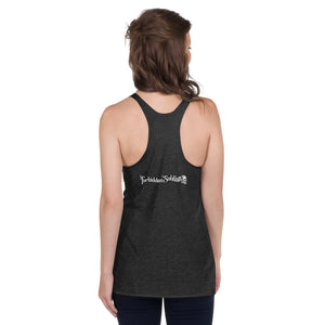 FORNICATE UNDER CONSENT OF KING-WOMEN'S RACERBACK TANK
