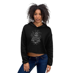 The KRAKEN-WOMEN'S CROPPED HOODIE