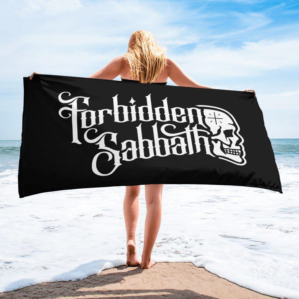 FORBIDDEN SABBATH BEACH TOWEL