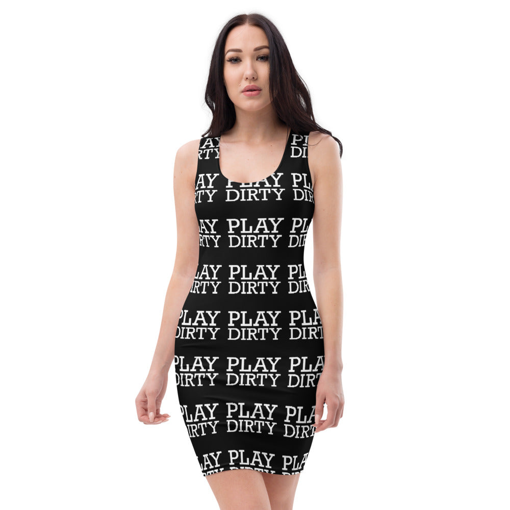 PLAY DIRTY-SUBLIMATION CUT & SEW DRESS