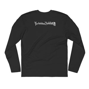 Fornicate Under Consent of king-Long Sleeve Fitted Crew