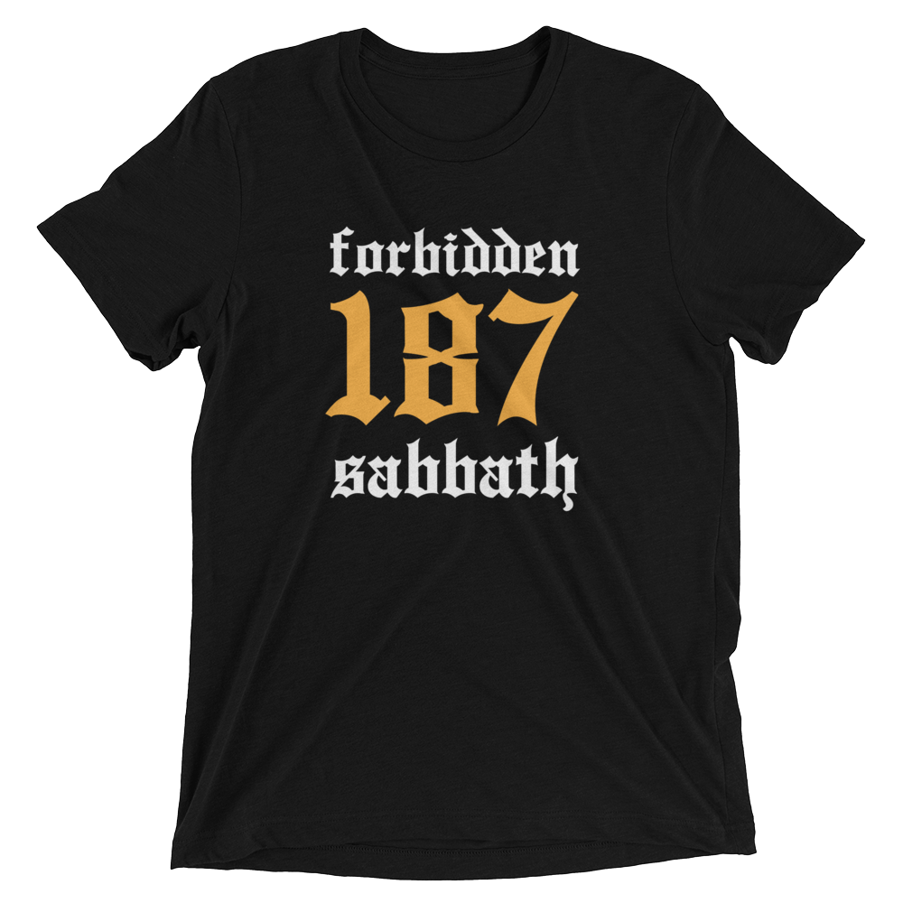 187, Gold-Short sleeve t-shirt