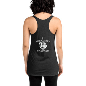 MIDDLE FINGER-FRONT-BCK-WOMEN'S TANK TOP