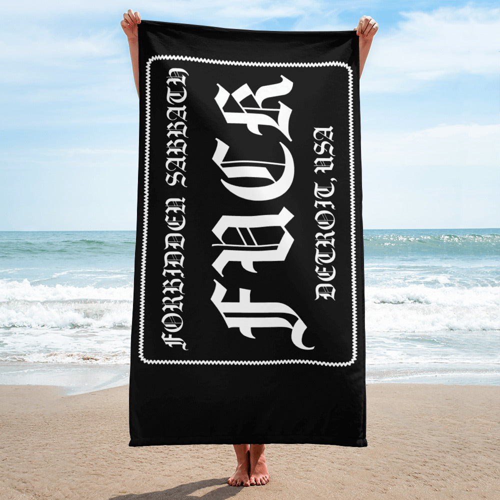 FORBIDDEN SABBATH FUCK-BEACH TOWEL
