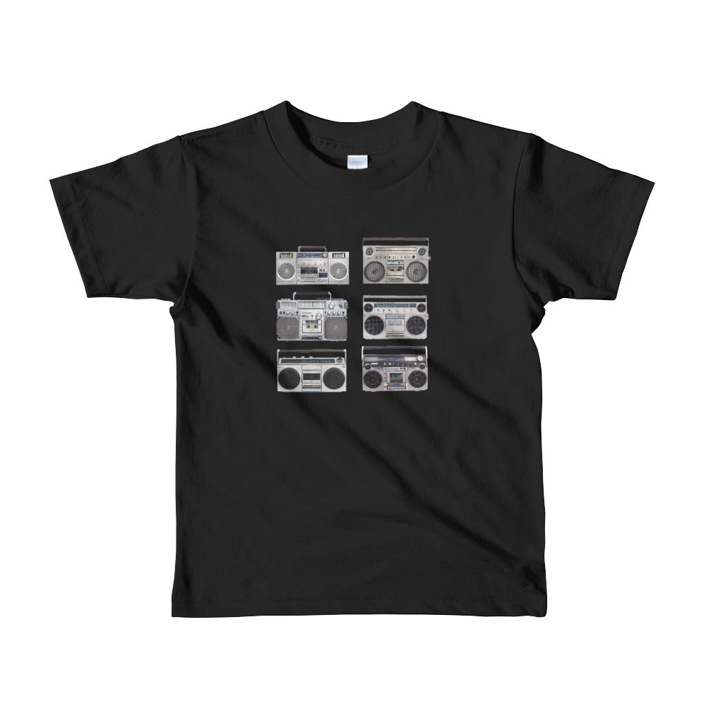 BOOM BOX, Short sleeve kids t-shirt
