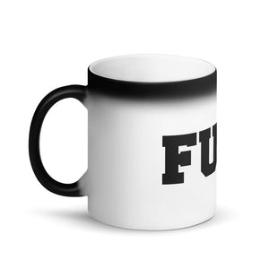 FUCK-MATTE BLACK MAGIC MUG