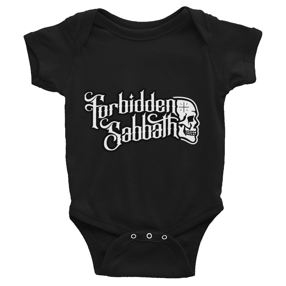 Forbidden Sabbath Logo-Infant Bodysuit