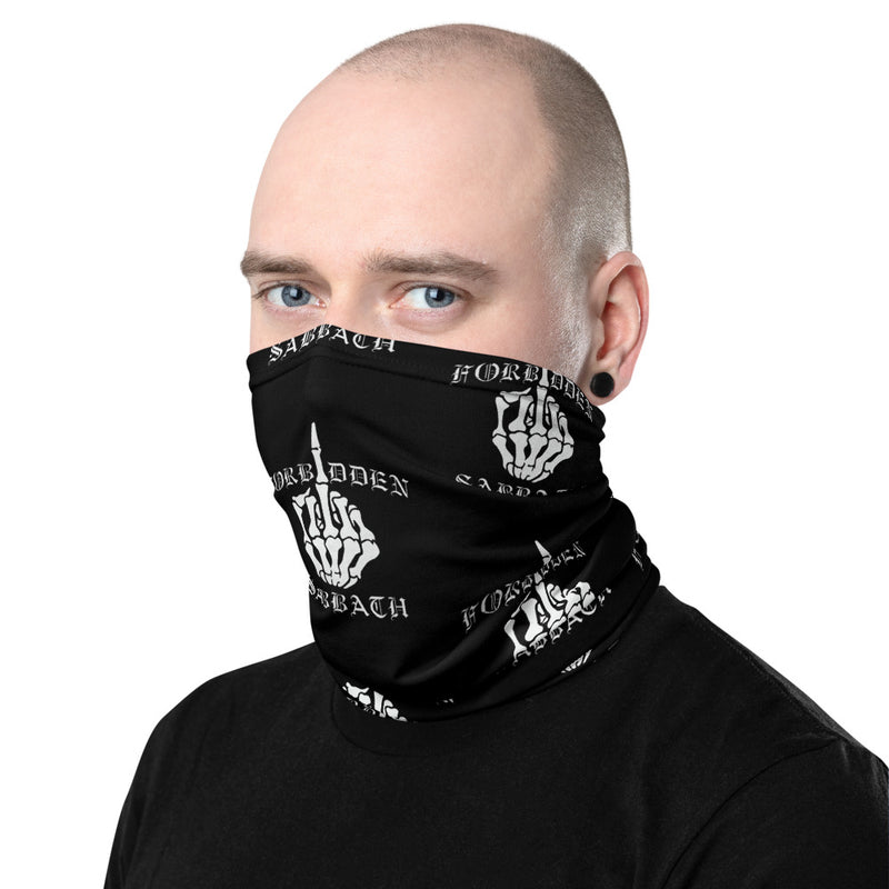 MIDDLE FINGER-NECK GAITER