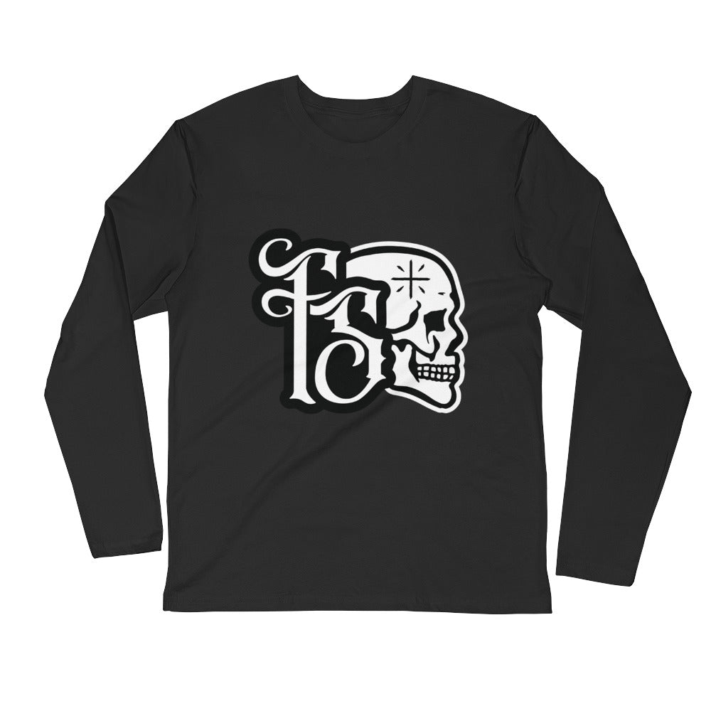 Forbidden Sabbath Icon-Long Sleeve Fitted Crew