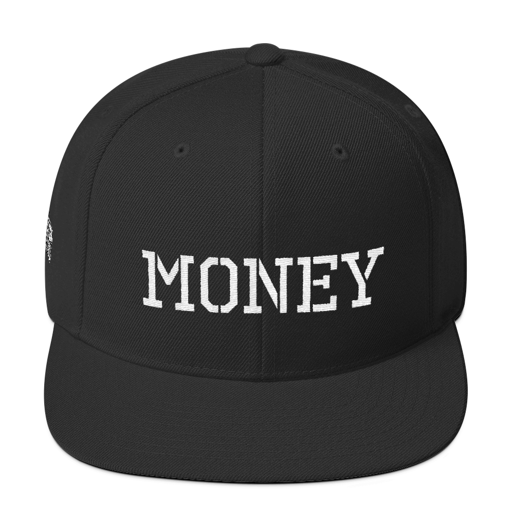 MONEY-WOOL BLEND SNAPBACK