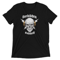 HI-FI SKULL, Gold-Short sleeve t-shirt