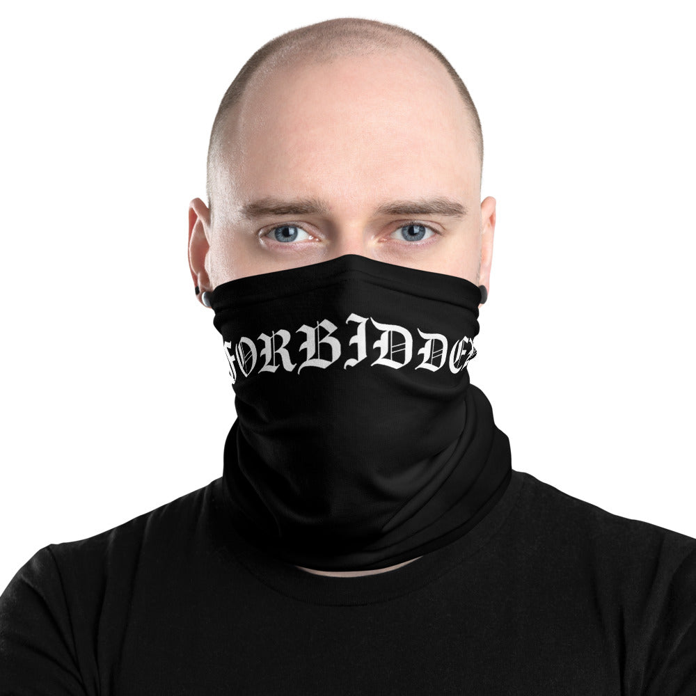 FORBIDDEN-OLD ENGLISH-NECK GAITER