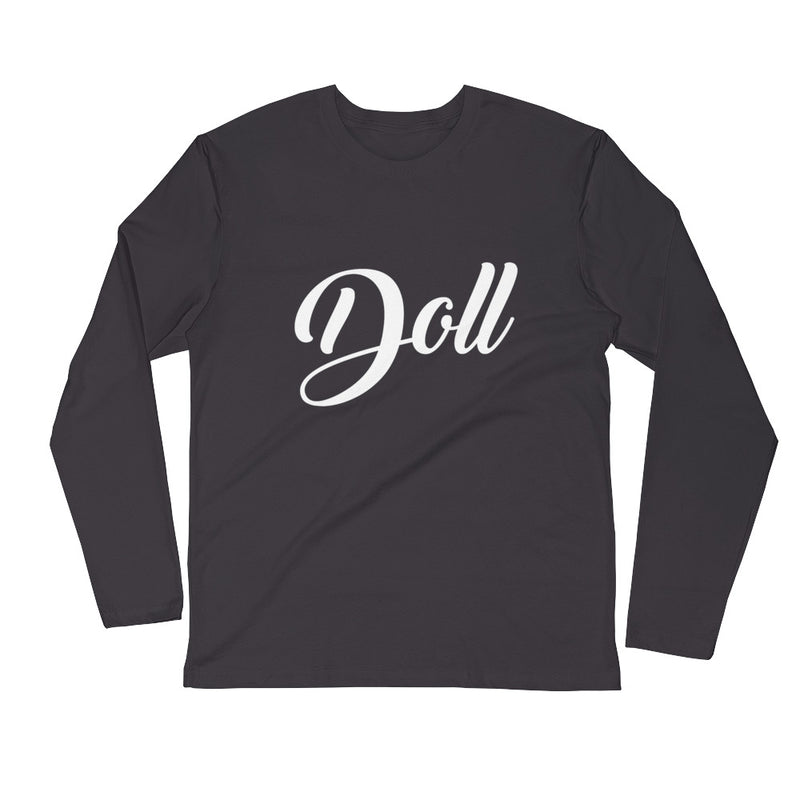 Doll-Long Sleeve Fitted Crew