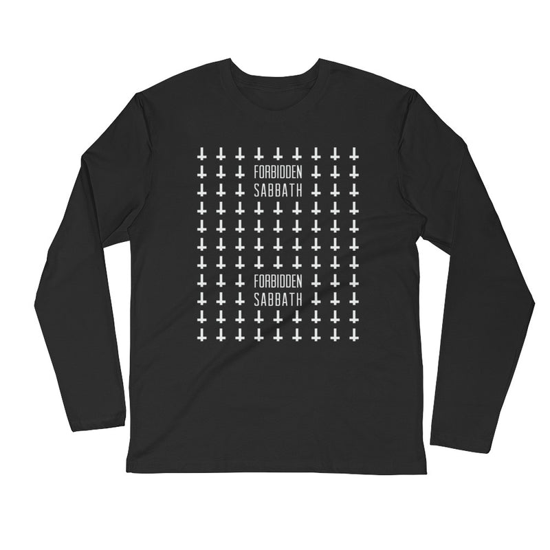 The Unholy-Long Sleeve Fitted Crew