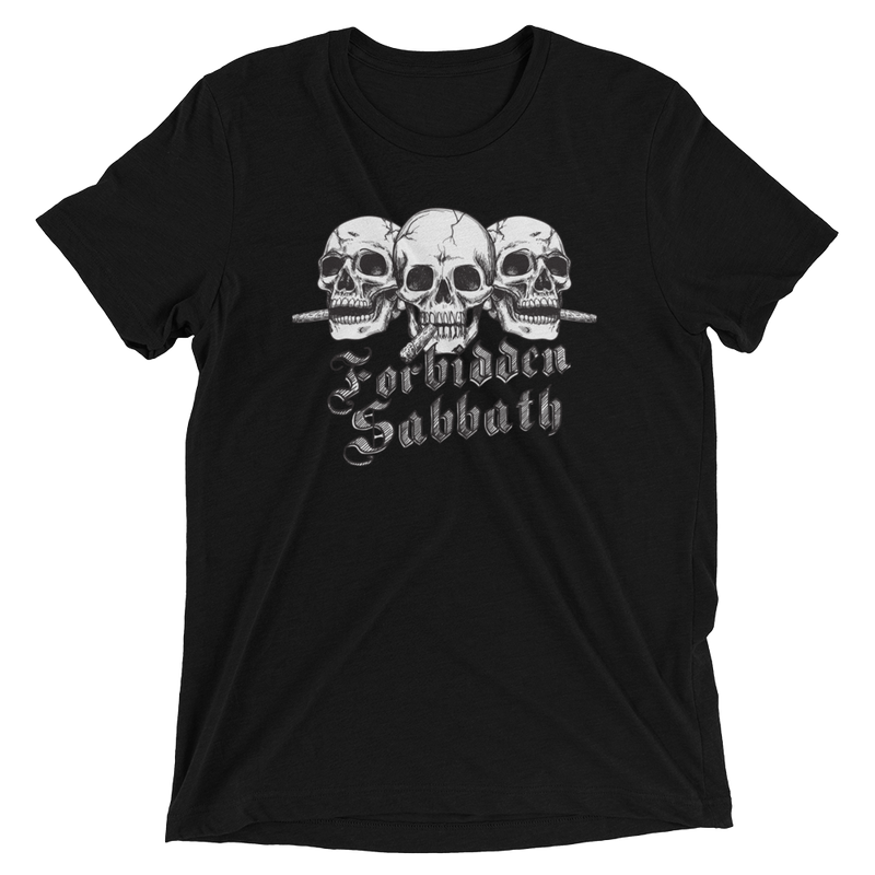 CIGAR SMOKEN TRIO SKULL-Short sleeve t-shirt